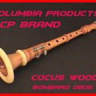 CP Brand New BOMBARD OBOE Cocus wood Flute Chanter FREE Carry Box iNTERMEDIATE