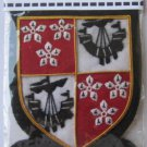 HAMILTON SCOTTISH CLAN BADGE NEW HAND EMBROIDERED CP MADE, HI QUALITY
