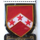 KERR SCOTTISH CLAN BADGE NEW HAND EMBROIDERED CP MADE, QUALITY COLLECTORS ITEM