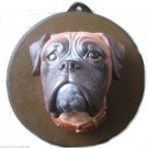 Hand Painted Dog Face CP MADE Best quality Free SHIP No. 12 Wall Hanging Plaque