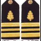 NEW US NAVY HARD Shoulder Boards LIEUTENANT COMMANDER  Rank Nurse Branch CP MADE