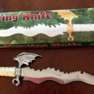 "CP Brand Fly Dragon  Dagger Blade Hunting Knife 17"" Long New FREE SHIP CP-1011"