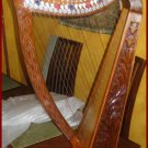 """NEW 22 STRING 33"""" HIGH HARP WITH LEVERS CP BTAND FREE CARRY BAG & SHIP IN USA"""
