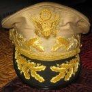 US ARMY WARRIOR GENERAL DOUGLAS MAC ARTHUR AUTHENTIC NEW UNIFORM KHAKI HAT