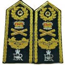 NEW UK MARSHALL OF THE ROYAL AIR FORCE HARD SHOULDER BOARS - Hi Quality CP Made