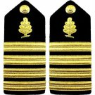 NEW US NAVY CAPTAIN RANK MEDICAL SERVICES HARD SHOULDER BOARDS AUTHENTIC CP MADE