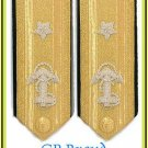 US NAVY 1 STAR LOWER DECK ADMIRAL RANK HARD SHOULDER BOARDS CP MADE HI QUALITY