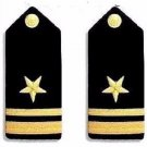 NEW US NAVY LIEUTENANT JUNIOR GRADE RANK HARD SHOULDER BOARDS AUTHENTIC CP MADE