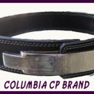 "NEW POWER LIFTING LEVER BELTS 2.5"" WIDE BLACK LEATHER FREE SHIP - CP MADE"