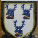 HANNAY SCOTTISH CLAN BADGE NEW HAND EMBROIDERED CP MADE HI QUALITY USa FREE SHIP