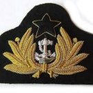 NEW GHANA NAVY OFFICER HAT CAP BADGE EXCELLENT QUALITY CP MADE FREE SHIP USA
