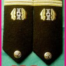 NEW US NAVY HARD Shoulder Boards ENSIGN Judge Advocate - HI QUALITY - CP MADE