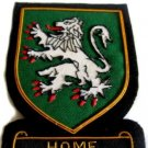 HOME SCOTTISH CLAN BADGE NEW HAND EMBROIDERED CP MADE HI QUALITY FREE USA SHIP