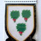 IRVINE SCOTTISH CLAN BADGE NEW HAND EMBROIDERED CP MADE HI QUALITY USA FREE SHIP