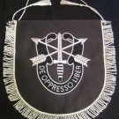 NEW US Army Special Forces DE OPPRESSO LIBER - TABLE Pannets - CP MADE FREE SHIP