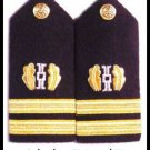 NEW US NAVY HARD Shoulder Boards Lieutenant Judge Advocate - HI QUALITY CP MADE