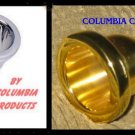 TWO (2) TUBA MOUTH PIECES GOLD & SILVER COLUMBIA Brand 18SP 18GP FREE SHIP USA