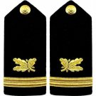 US NAVY  ENSIGN RANK SUPPLY CORP HARD SHOULDER BOARDS AUTHENTIC QUALITY CP BRAND