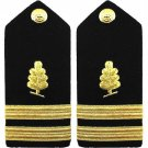 NEW US NAVY LIEUTENANT MEDICAL SERVICES HARD SHOULDER BOARDS AUTHENTIC CP MADE