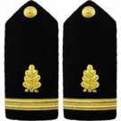 NEW US NAVY ENSIGN RANK DENTAL CORP HARD SHOULDER BOARDS AUTHENTIC CP MADE