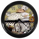 "Chef 10"" Wall Clock (Black)"