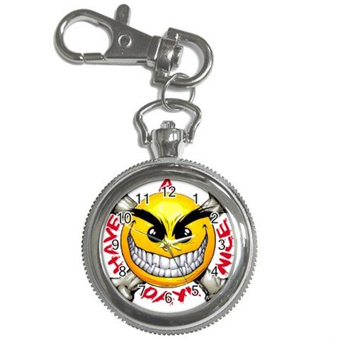 Have a Nice Day Key Chain Watch