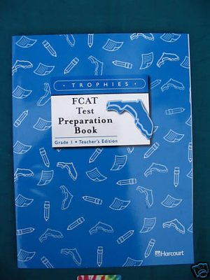 Harcourt Reading and Language  FCAT Test Prep Set 2002 Grade 1 Teachers Edition