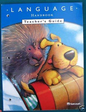 Harcourt Language Handbook Teacher's Guide 2002 Grade 1
