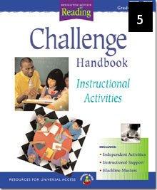 Houghton Mifflin Reading Challenge Handbook Grade 5 Teachers Edition