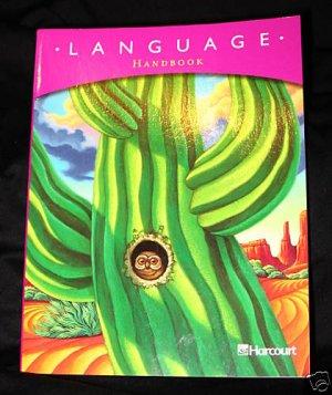 Harcourt Language Handbook Grade 4 2003 Homeschool Student edition