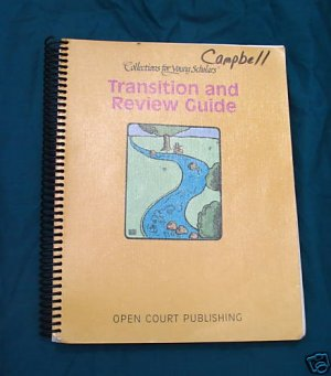 SRA Open Court Collections for Young Scholars  Transition and Review Guide Grade 1-2