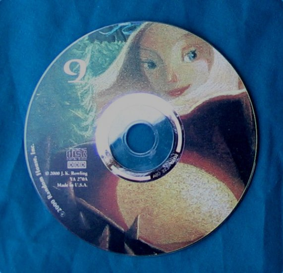 Harry Potter and the Goblet of Fire Audio CD Disc 9 only - Replacement Single CD
