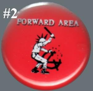 Forward Area - 'Smash Anarchy' pin