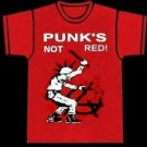 Punk's Not Red shirt