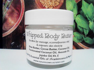 Whipped Body Butter (1 oz glass jar)