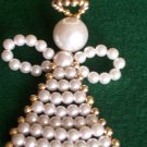 Handmade Beaded Angel Ornament