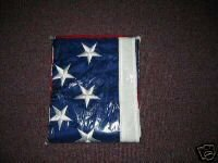 5x8 US FLAG EMBROIDERED STARS SEWN STRIPES