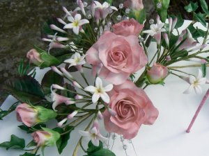 Jasmine/Rose  creamy goat milk soap  3oz