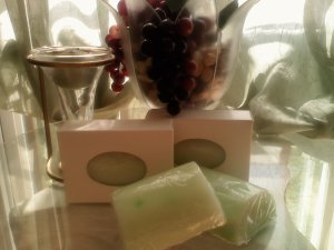 Green Tea & Cucumber     goat milk soap 3oz