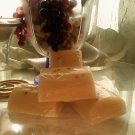 Brown sugar fig & Vanilla               shea butter soap  2oz