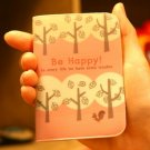 Cute Shinzi Katoh Squirrel In Forest Tree Be Happy Name Credit Card Case Holder