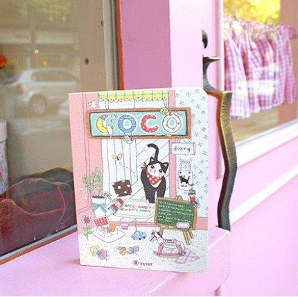 Very Cute Jetoy Coco Cat Animal Theme Any Year Cartoon Planner Diary