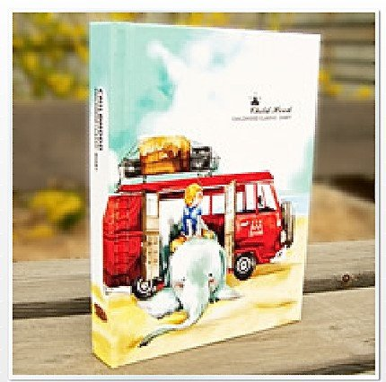 Beautiful Childhood Classic Riding An Elephant Any Year Planner Diary