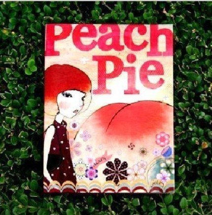 Retro Surreal Style Jetoy Peach Pie Any Year Planner Diary