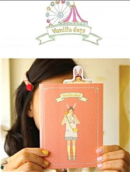 Cute Vanilla Days Carnival Circus Shops Travel Design Any Year Korea Planner Diary Journal Stickers
