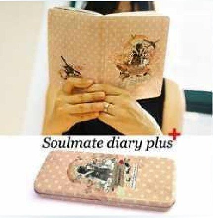Very Pretty Retro Style Doma Soulmate Any Year Planner Diary With Matching Pencil Case