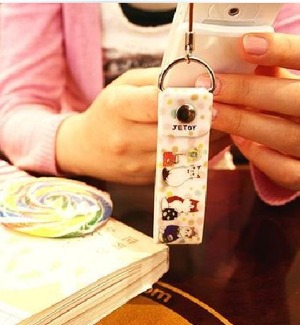 Jetoy Cats Mp3 Camera Handphone Strap Charm In Waiting For Bus Theme