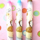 Kawaii Cupcake Food Rabbit Animal Ballpoint Pens 3's