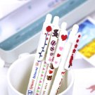 Zakka Bird Hearts Animal Message Ballpoint Pens 4's