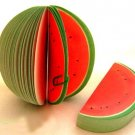 Zakka Watermelon Fruit Fun Scrapbook Paper Note Memo Pad